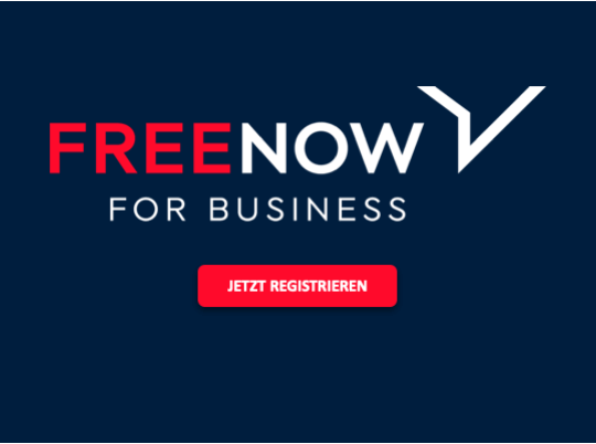 Free Now for Business | VDR-Anzeige