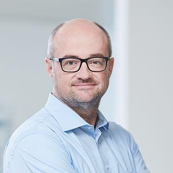Portraitfoto von VDR-Präsident Christoph Carnier