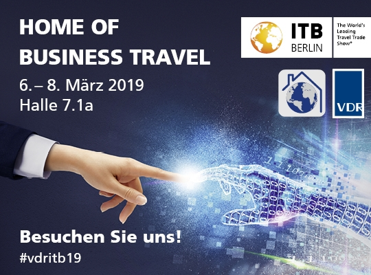 ITB 2019 | Home of Business Travel | VDR